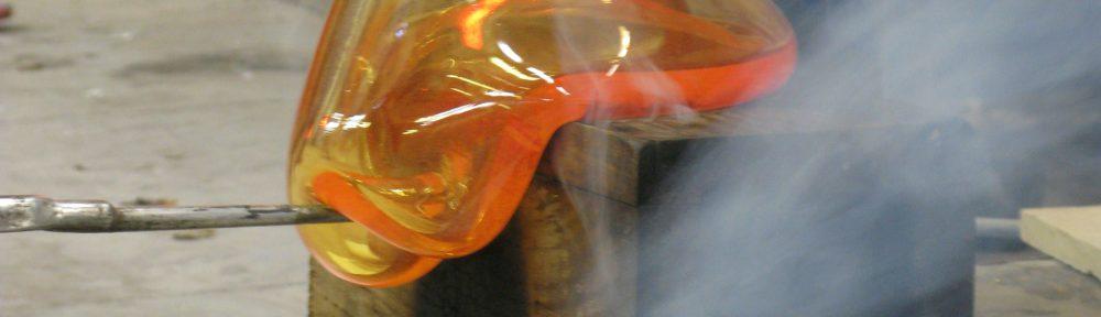 verre soufflé bouche - lustres