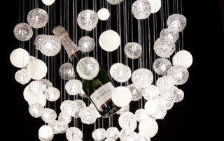 collaboration luminaires champagne