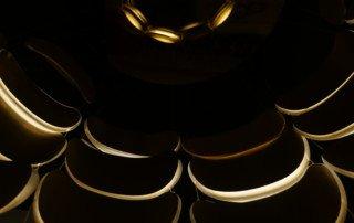 luminaire led sur mesure Lustre light skin