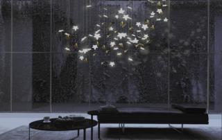 lustre design 1000 Feuilles